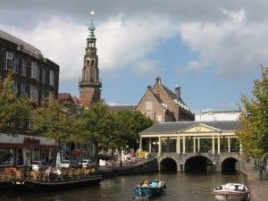 Haardhout in Leiden