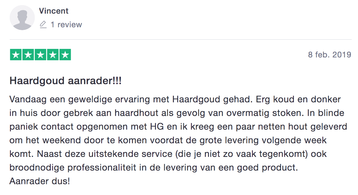 Review Haardgoud